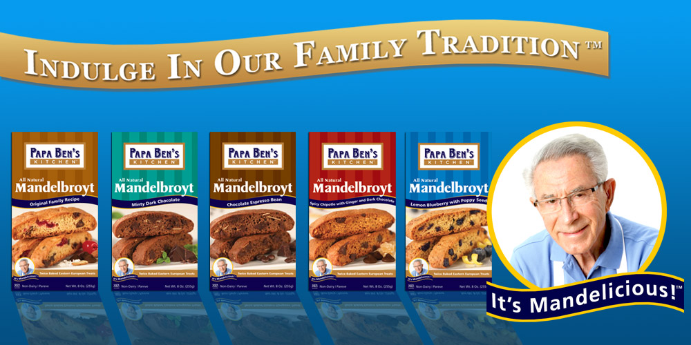 Indulge In Our Family Tradition - It's Mandelicious!