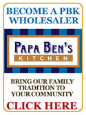 Become a Papa Ben's Kitchen Wholesaler